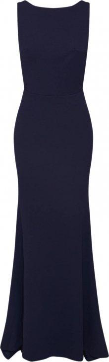 Missguided Společenské šaty \'BRIDESMAID SLEEVELESS LOW BACK MAXI DRESS\' tmavě modrá
