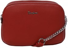 David Jones Dámská crossbody kabelka Red 6200-2