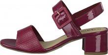 Tamaris Dámské sandále 1-1-28211-24-640 Cranberry Comb 39