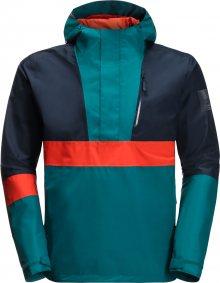 JACK WOLFSKIN Sportovní bunda \'365 BOOSTER JACKET M\' tmavě modrá / petrolejová / oranžová