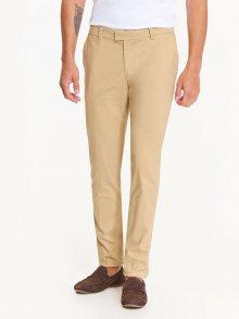 Kalhoty béžová 33
