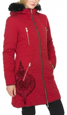 Azul Kabát Desigual | Červená | Dámské | 36