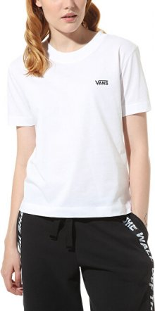 VANS Dámské triko WM Junior V Boxy White VN0A4MFLWHT1 S