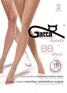 Gatta BB Creme Effect 15 den punčochové kalhoty 3-M daino/odstín béžové