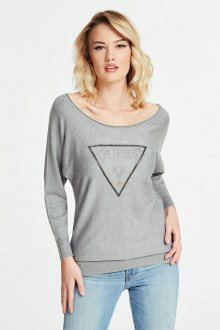 Guess šedý svetr Jewel Sweater - XS