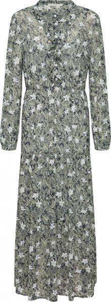 Love Copenhagen Košilové šaty \'MalinaLC\' režná / zelená
