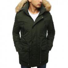 Pánská bunda parka zimní khaki TX3063
