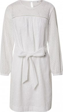 GAP Košilové šaty barva bílé vlny