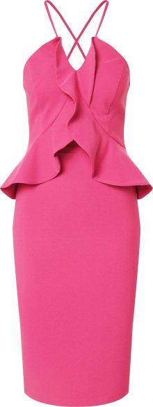 Trendyol Koktejlové šaty pink