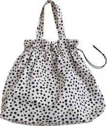 EDITED Nákupní taška \'Kelcie\' bílá / černá