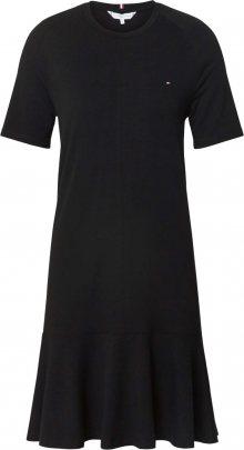 TOMMY HILFIGER Šaty \'TIFFANY\' černá
