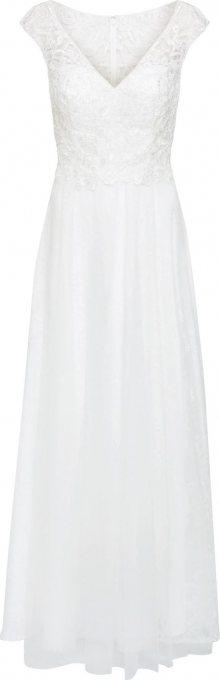 MAGIC BRIDE Společenské šaty slonová kost
