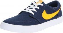 Nike SB Tenisky \'Solarsoft Portmore 2\' bílá / noční modrá / žlutá