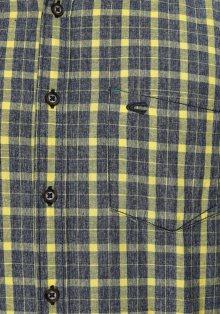 CAMEL ACTIVE Košile žlutá / modrý melír
