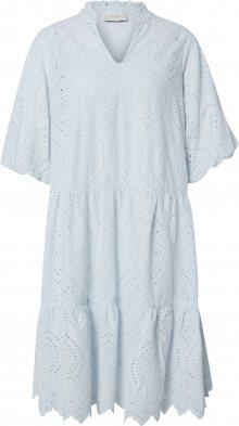 Neo Noir Košilové šaty \'Kiko Embroidery\' světlemodrá