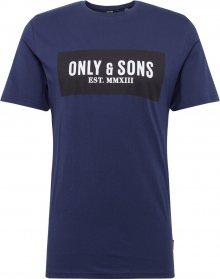 Only & Sons Tričko \'NORMIE\' tmavě modrá
