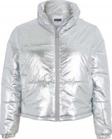 Urban Classics Curvy Zimní bunda stříbrná
