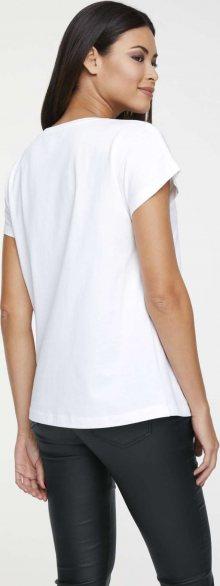 heine Tričko bílá