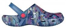 Coqui Dámské pantofle Tina Printed Niagara Blue/Tropical 1353-206-5100 37