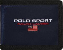 POLO RALPH LAUREN Peněženka \'COTTON/NYLON-SPRT BLLFLD-WLT-NYL\' námořnická modř