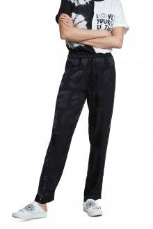 Desigual černé kalhoty Pant Agrinio - XS