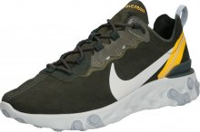 Nike Sportswear Tenisky \'REACT ELEMENT 55\' mix barev / zelená