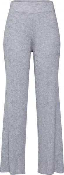 Neo Noir Kalhoty \'Aubrey Knit Pants\' světle šedá
