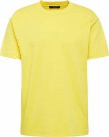 JACK & JONES Tričko žlutá