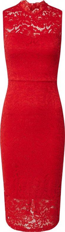 WAL G. Pouzdrové šaty červená
