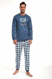 Cornette 115/134 Run pánské pyžamo XXL tmavě modrá