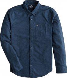 HOLLISTER Košile námořnická modř