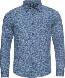 Urban Classics Košile modrá / světlemodrá
