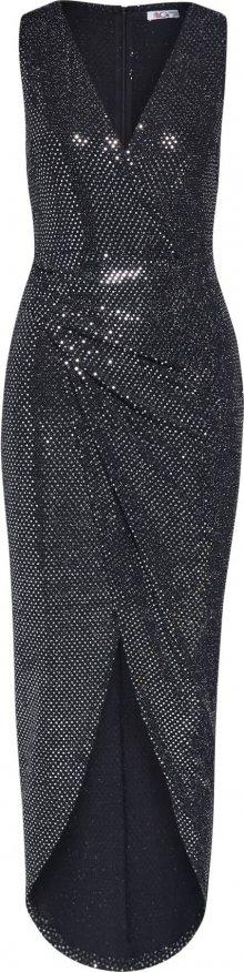 WAL G. Společenské šaty \'Black Sequin\' černá