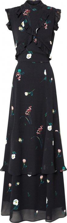 IVY & OAK Společenské šaty černá / mix barev