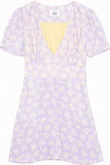 Pepe Jeans Letní šaty \'Dua Lipa RUTH\' fialová