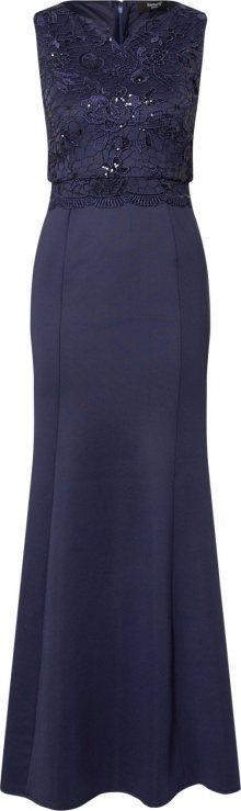 SISTERS POINT Společenské šaty námořnická modř