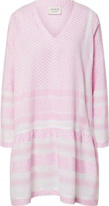 Cecilie Copenhagen Letní šaty bílá / růžová