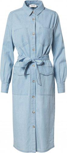 modström Košilové šaty \'Barrett\' modrá