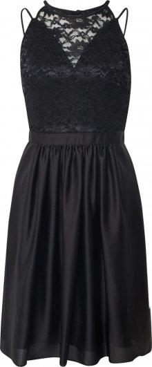 SWING Šaty černá