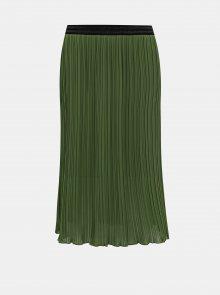 Zelená plisovaná sukně ZOOT Marghareta