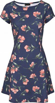LASCANA Letní šaty námořnická modř / růžová