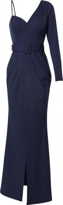 Forever Unique Společenské šaty \'VERONICA\' námořnická modř