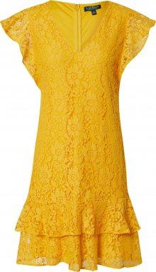 Lauren Ralph Lauren Šaty \'CHALINA\' žlutá