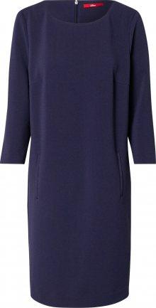 s.Oliver Společenské šaty tmavě modrá