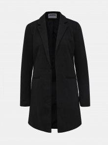 Černý lehký kabát Noisy May Coatigan