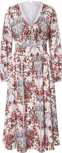 GLAMOROUS Šaty pink / růžová / fialová / béžová