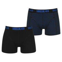 Pánské pohodlné boxerky SoulCal - 2 ks