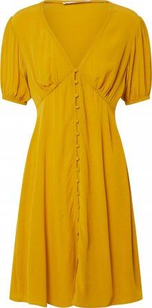 Samsoe Samsoe Košilové šaty \'Petunia\' hořčicová