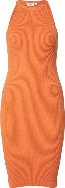 EDITED Šaty \'India\' oranžová
