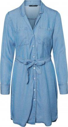 VERO MODA Šaty modrá džínovina